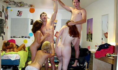 College Dorm Extreme Sex Party